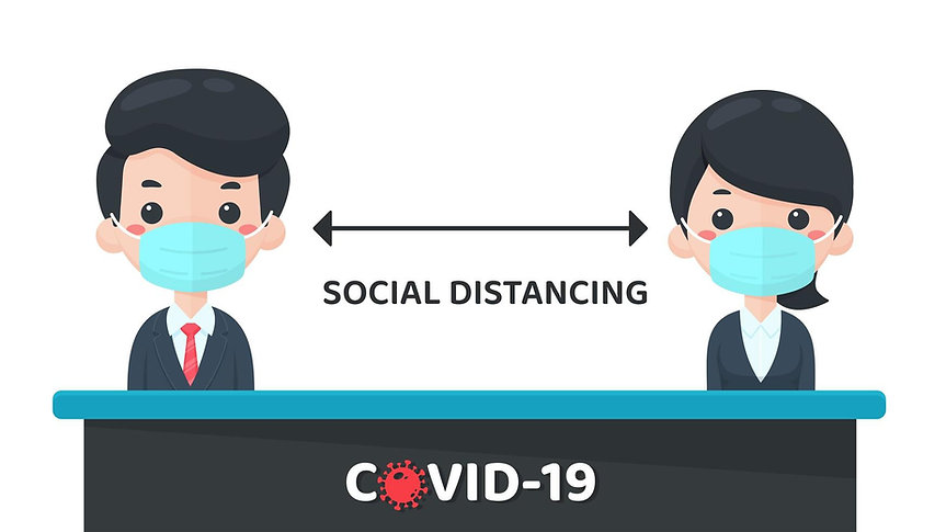 social-distancing-design-in-cartoon-styl