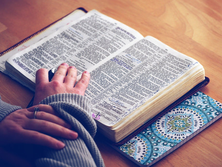 FIRST STEPS TO INTERPRETING THE BIBLE SPIRITUALLY