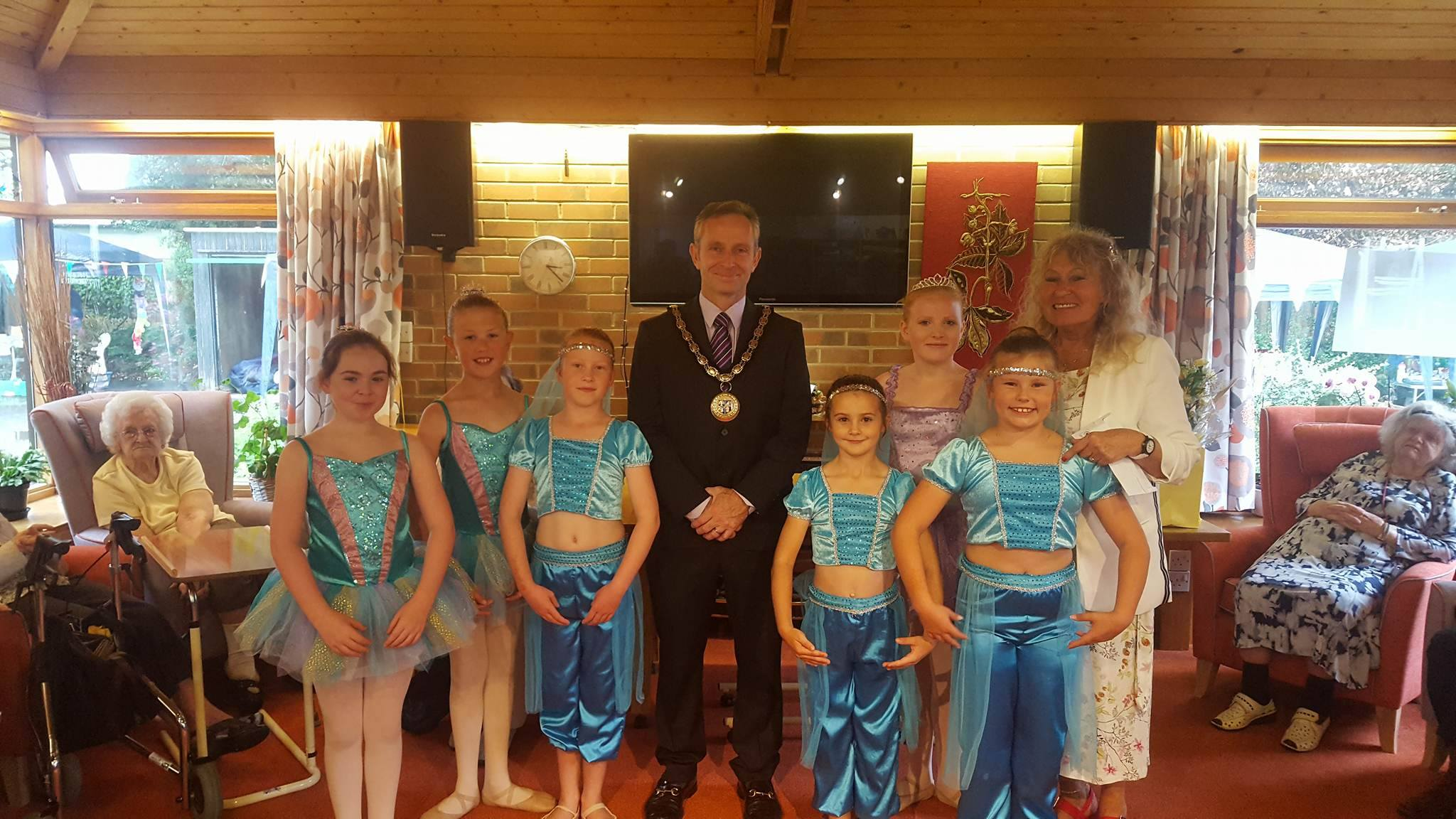 Care home performance with mayor