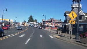 Downtown Waldport