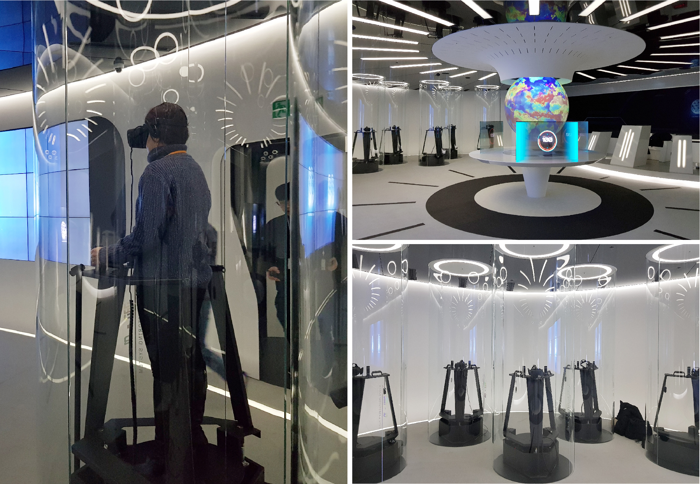 SK T타워 T.um체험관 VR시뮬레이터 제작 설치