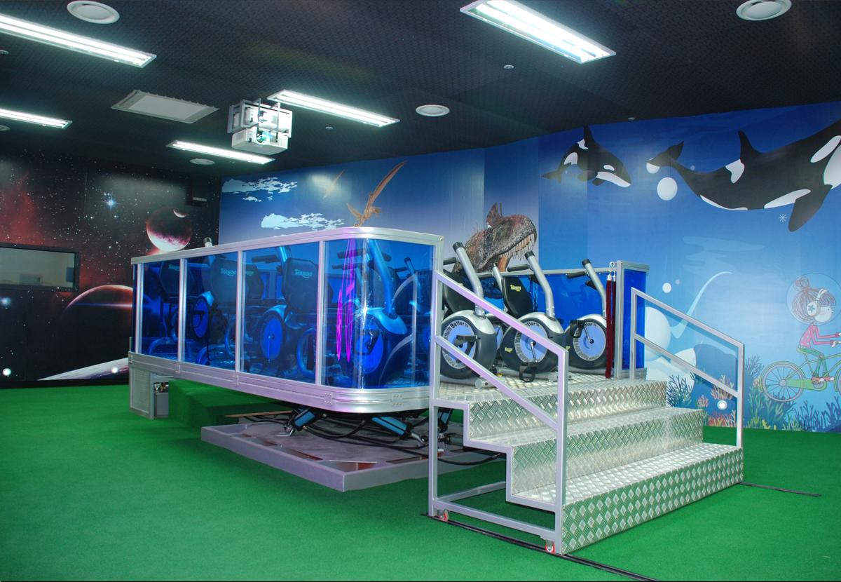 부천 오정구청- 4D자전거 시뮬레이터