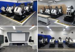 도로교통공단- 첨단교육장 VR시뮬레이터 제작 설치