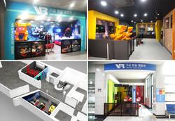 영월군 통합콘텐츠확충사업 4D라이더VR 시뮬레이터 3개 박물관