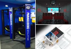 강진 한국민화미술관 4D체험관 및 멀티터치시스템 제작 설치