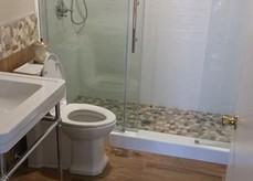 Naturally inspired bathroom