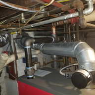 steam boiler manifold