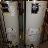 duel water heater installation