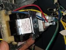 Boiler relay switch and transformer