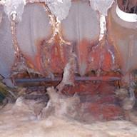 rotting boiler block