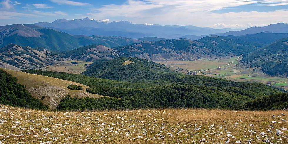 Laghetti di Rascino e monte Nuria leggendo Sciascia