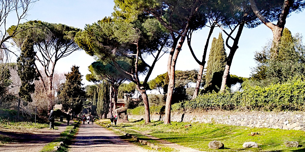 "Trenotrek Via Appia Antica leggendo ""Il fu Mattia Pascal"""