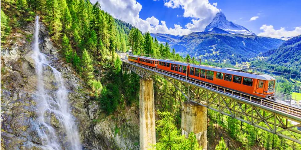 Una settimana tra le montagne dell'Engadina sul trenino rosso