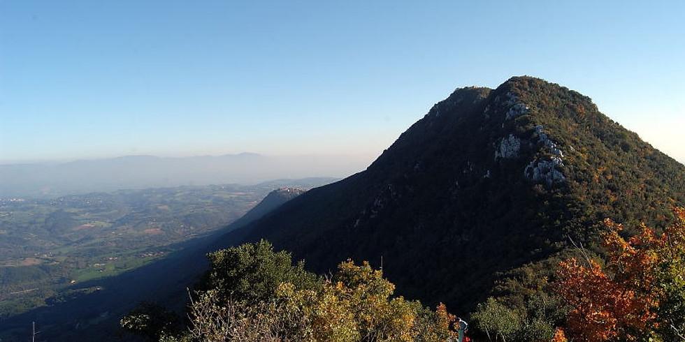 """Il monte Soratte con """"M, il figlio del secolo"""""""