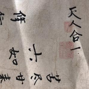 on reading 於 中国 '一定会