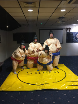 Family Sumo Suits