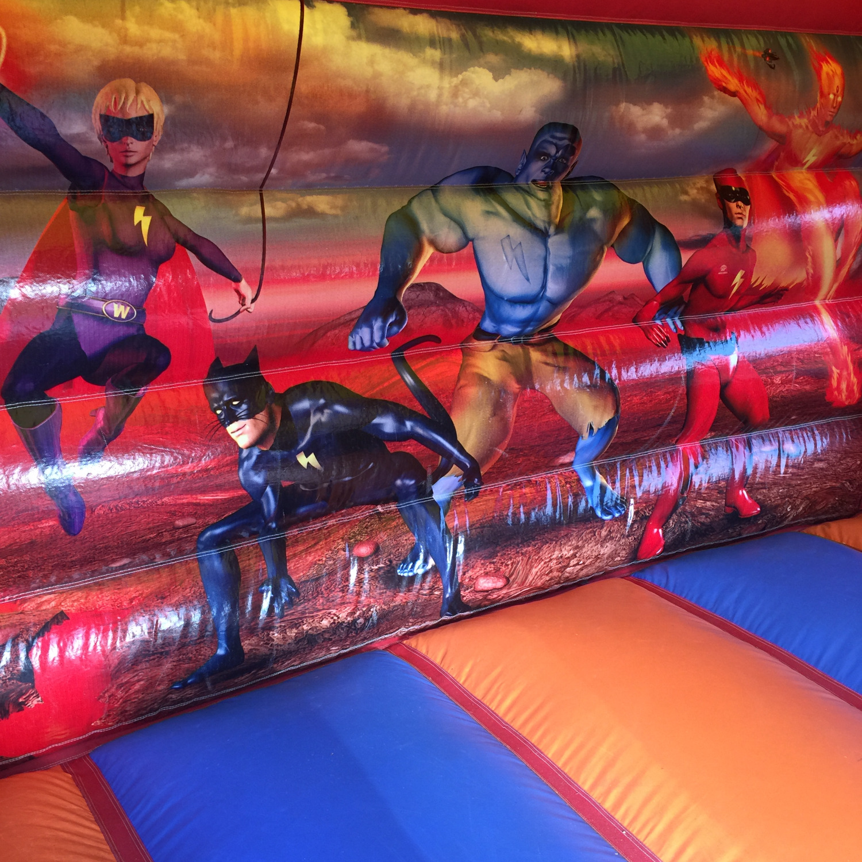 Superheroes Bounce