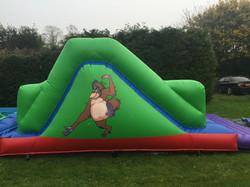 Monkey Fun Run (with scramble net)