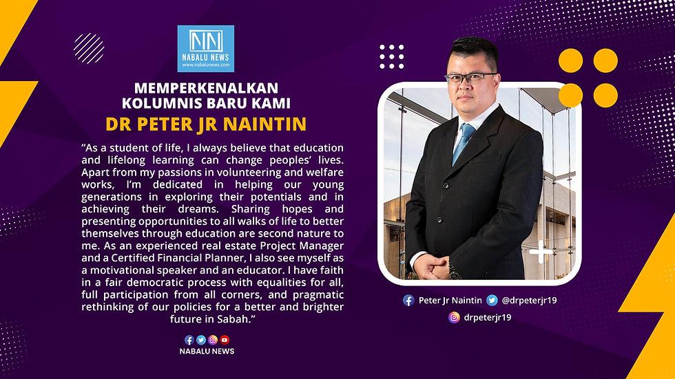 KOLUMNIS BARU - DR PETER JR NAINTIN.jpg