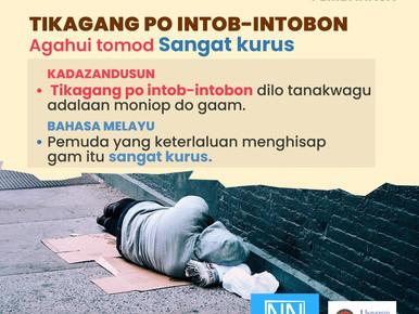PERIBAHASA KADAZANDUSUN 'TIKAGANG PO INTOB-INTOBON' BERMAKSUD SANGAT KURUS