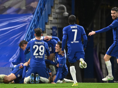 CHELSEA BEAT REAL MADRID TO SET UP ALL - ENGLISH CHAMPIONS LEAGUE FINAL