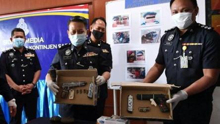 POLIS SABAH TEMBAK MATI LIMA ANGGOTA KUMPULAN PENGGANAS ABU SAYAF DI BEAUFORT