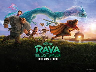 """RAYA AND THE LAST DRAGON"" TOPS NORTH AMERICAN BOX OFFICE FOR THIRD WEEKEND IN A ROW"