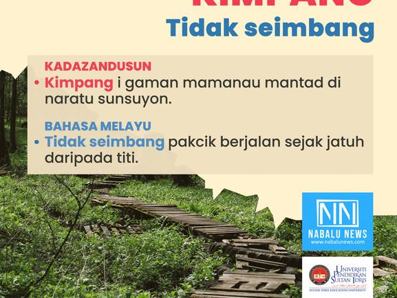 'KIMPANG' DAN 'TOMPOK' DALAM BAHASA KADAZANDUSUN