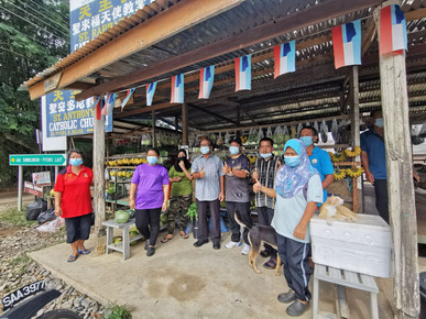 EWON INSPECTS RURAL STALL ACTIVITIES IN KADAMAIAN