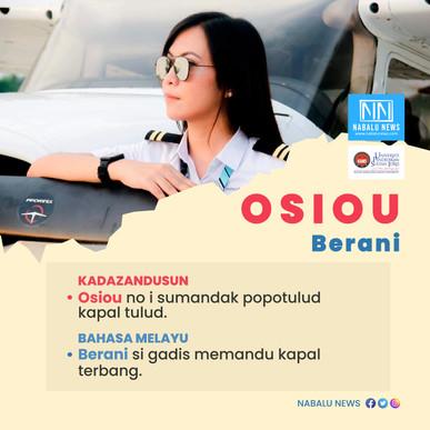 'Osiou' bermaksud 'Berani'