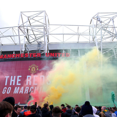 MANCHESTER UNITED VS LIVERPOOL OFFICIALLY POSTPONED AFTER FAN PROTEST AT OLD TRAFFORD