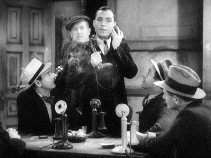 """A still from the restored version of Lewis Milestone's 1931 """"The Front Page."""" Credit Academy of Motion Picture Arts and Sciences"""