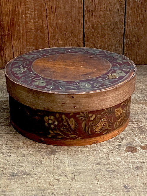 Paint Decorated 19th C Pantry Box