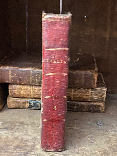 "1820 Leather Bound Book ""Select Aphorisms"""