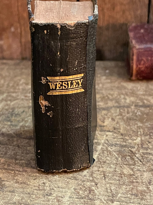 Very Small Leather Wesley Collection of Hymns