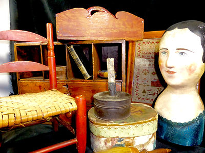 country antiques, primitives, folk art, americana