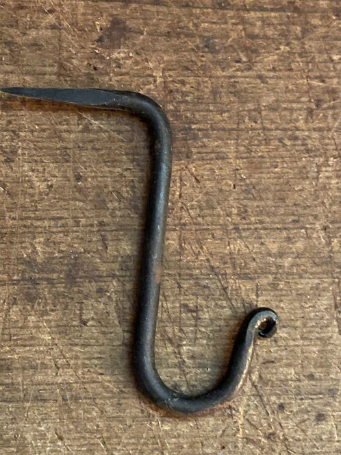L Shaped Beam Hook with Curl