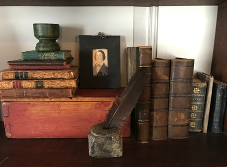 The Romance of Old Leather Books