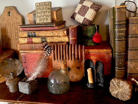 Miniature Antiques - Why do we like teensy-weensy stuff?