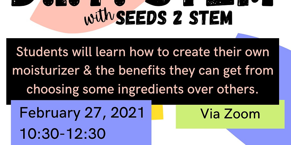 """""""Do It Yourself STEM"""" featuring Seeds to STEM"""