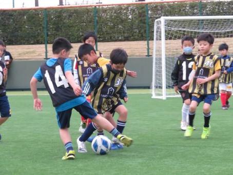 第24弾 3/20 (土)サッカーあそびを楽しもう開催! 108名参加!