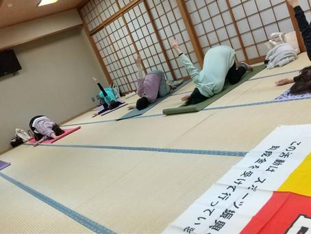 3/23(火) ヨガ教室