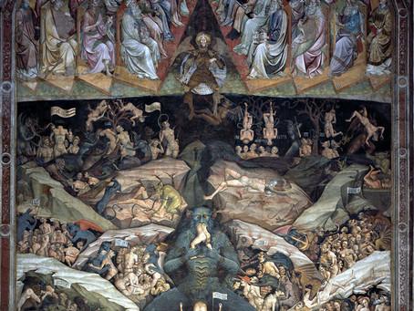 Fresco del Infierno de la iglesia de San Petronio