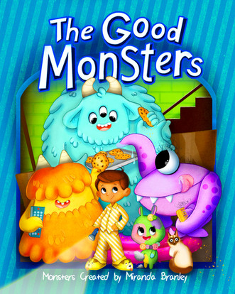 The Good Monsters Book Cover