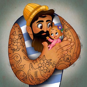 Daddy Has Tattoos