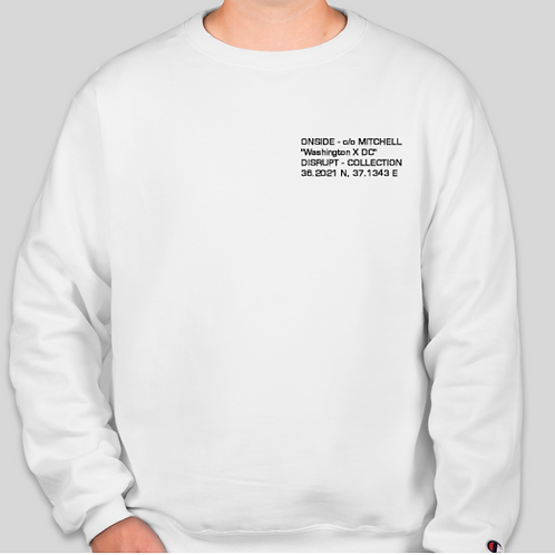 "OnSide ""DISRUPT"" Collection Sweatshirt"