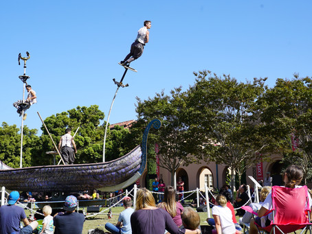 La Jolla Playhouse's Outdoor Festival WOWs District 2.
