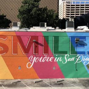 """Smile, you're in San Diego"" a motto Councilmember Campbell can live by..."