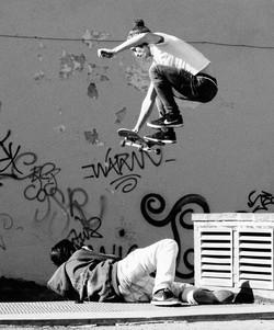 Tommaso Beni skate a Firenze