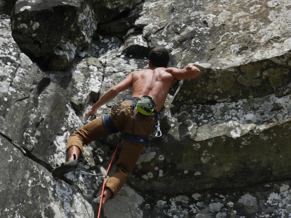Tommaso Beni istruttore arrampicata